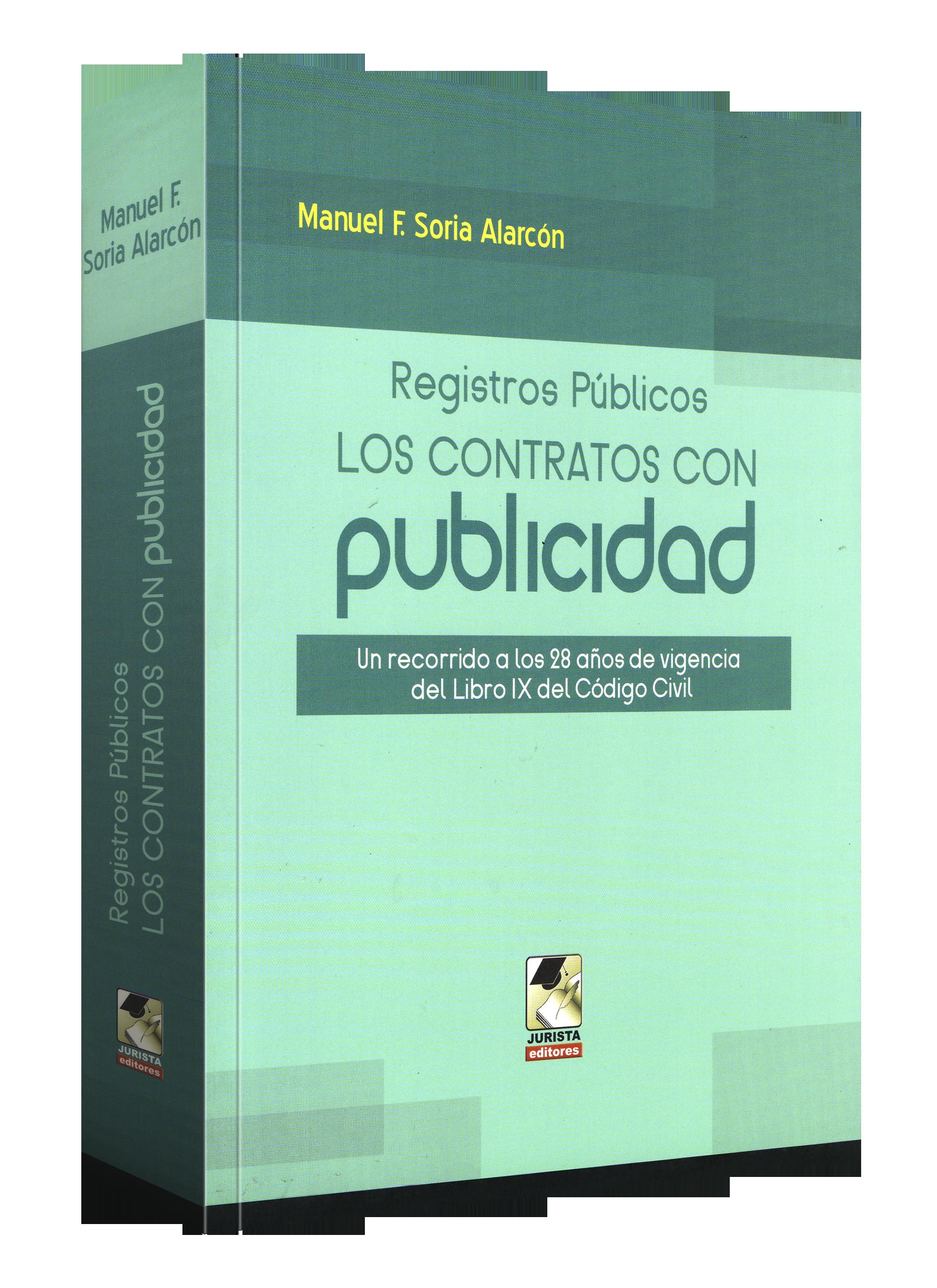 Registros Públicos Los Contratos Con publicidad