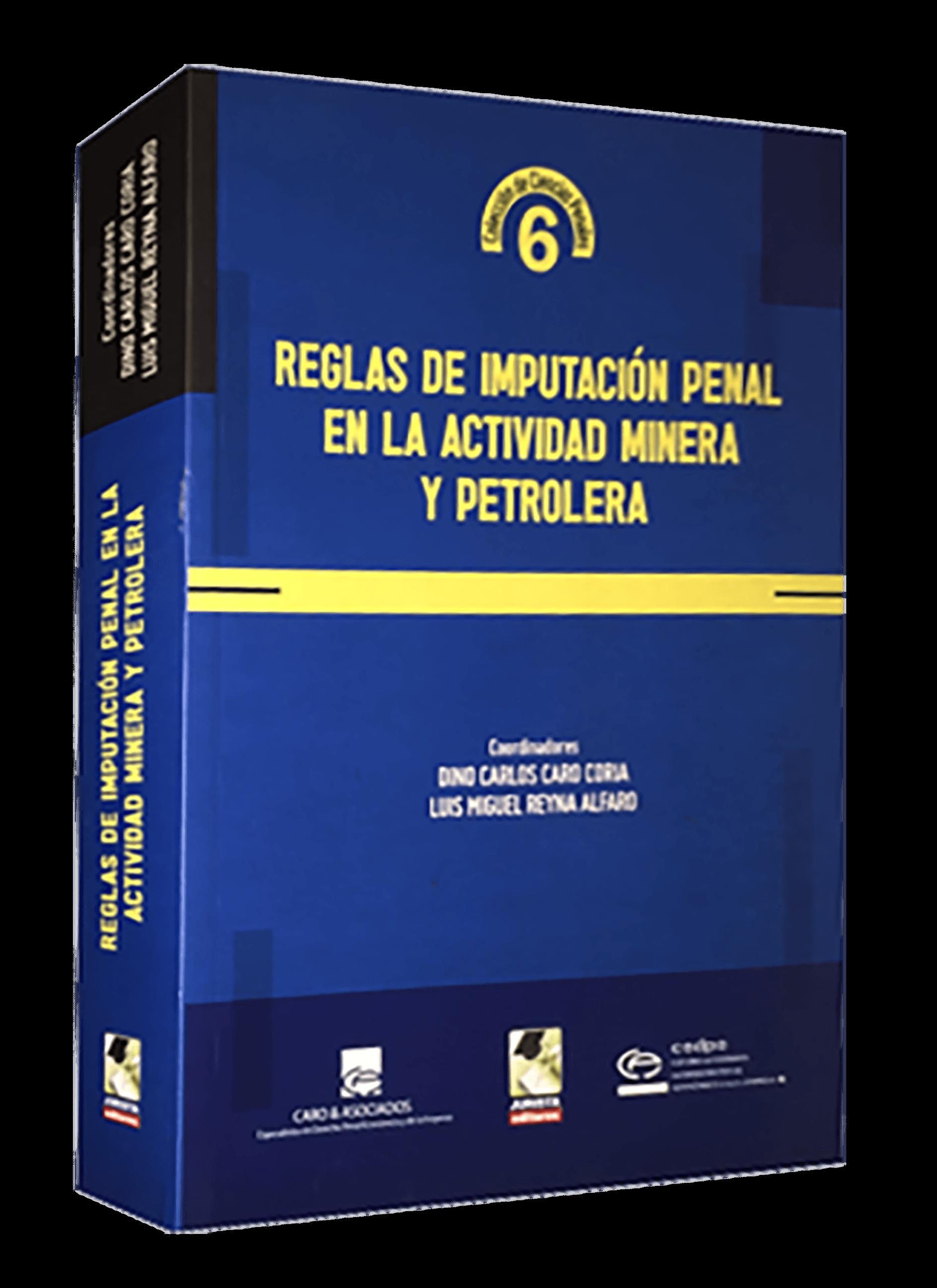 Reglas de Imputación Penal en la Actividad Minera y Petrolera