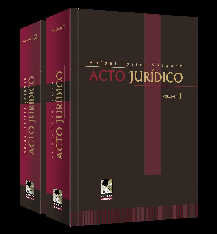 Acto Jurídico - 2 tomos